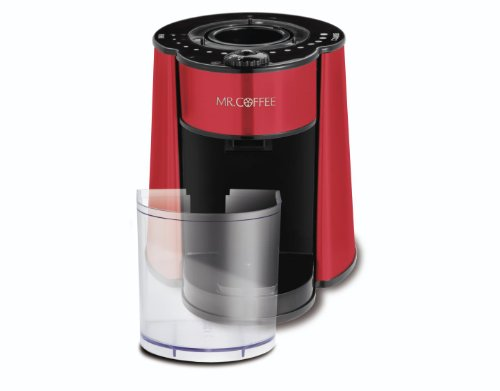 mr coffee automatic burr mill grinder manual