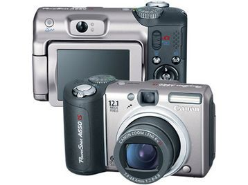 canon powershot a650 is manual